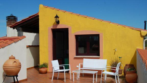 Casa Rural El Patio del Arco - terraza