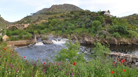 Posada Real Quinta de la Concepción - Panorámica Quinta desde río corta